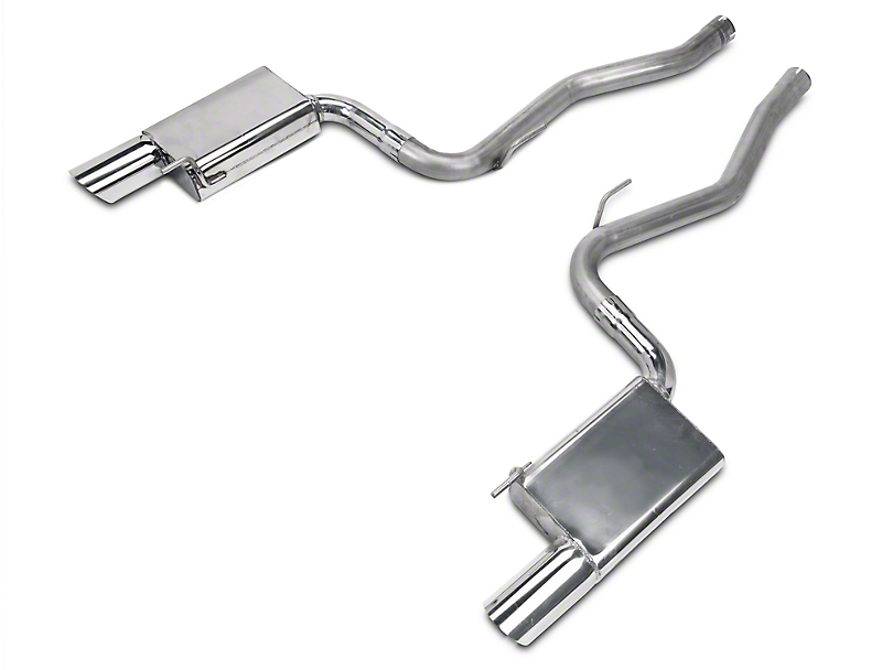 MAC Axle-Back Exhaust (15-19 EcoBoost Fastback w/o Active Exhaust)