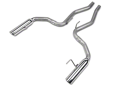 MAC Boom Tube Axle-Back Exhaust (15-18 EcoBoost Fastback)