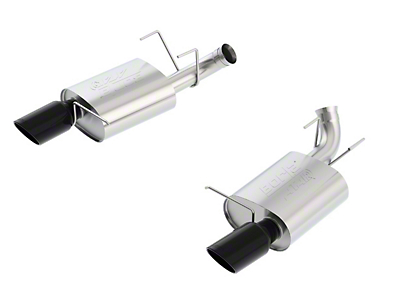 Borla ATAK Axle-Back Exhaust - Black Tips (11-12 GT)
