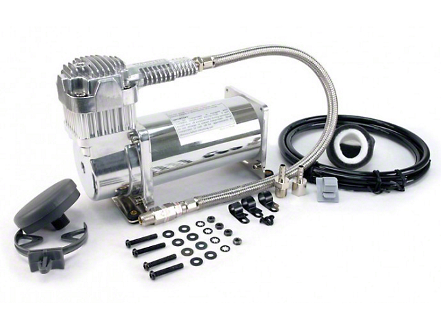 Air Lift Performance Viair 380C Chrome Air Compressor - 200 PSI (94-18 All)