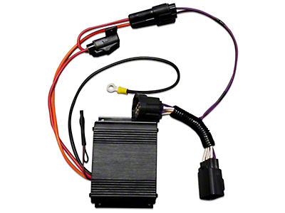 VMP Dual Fuel Pump Voltage Boosters - Plug-and-Play (13-14 GT500)
