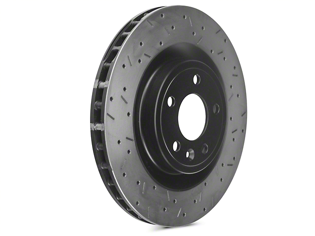 DBA 4000XS Series Drilled & Slotted Rotors - Front Pair (11-14 Standard GT)