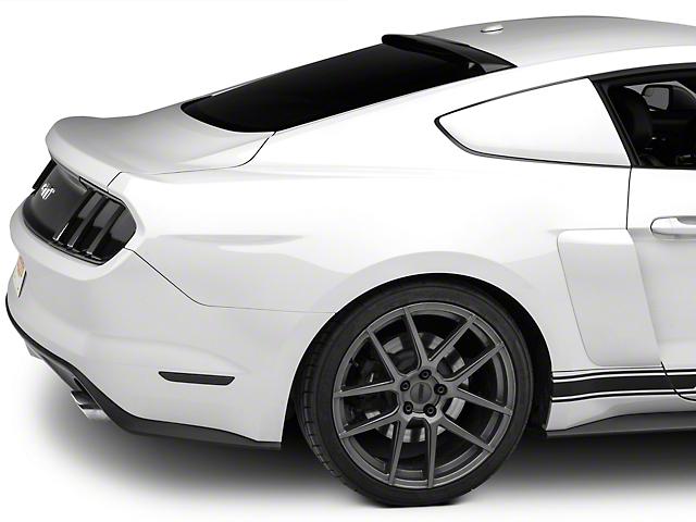 MMD Mustang Roof Spoiler - Matte Black 390039 (15-19 Fastback) 565ba654620d