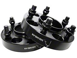 1 in. Billet Aluminum Hubcentric Wheel Spacers (15-20 All)