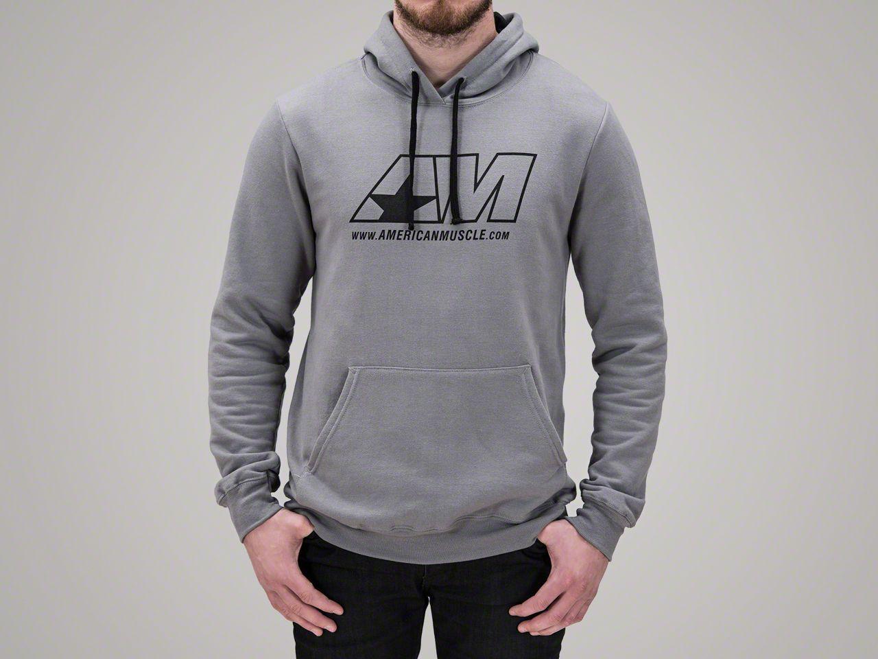 AmericanMuscle Gray Hoodie - XL