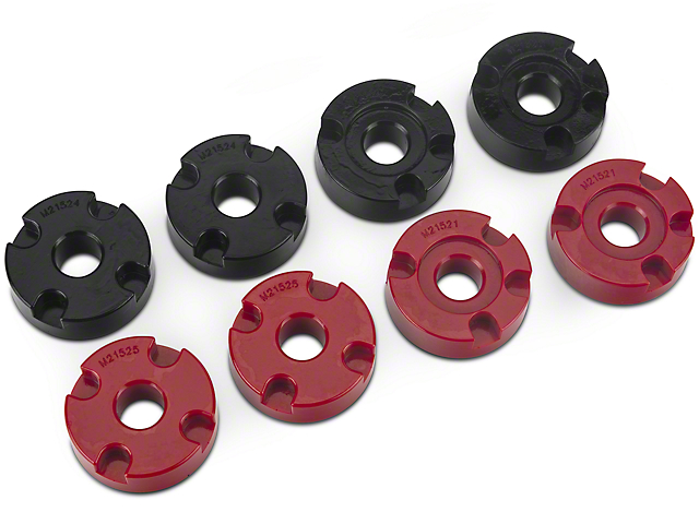 Steeda IRS Differential Bushing Insert System - Urethane (15-19 GT)