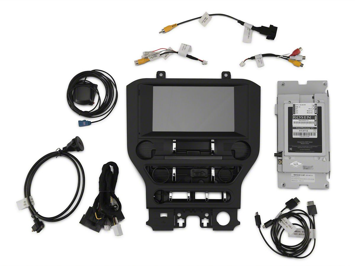 Raxiom Navigation & Touch Screen Upgrade For OE Radio (15-17 All)