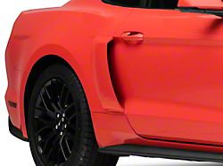 MMD Pre-Painted V-Series Side Scoops - Black (15-19 All)