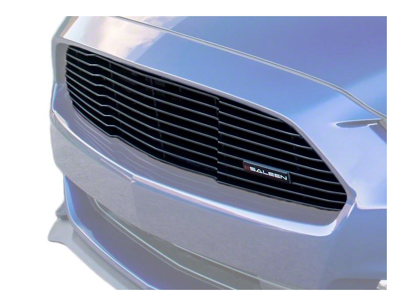 Saleen S302 White Label Upper Grille (15-17 GT, EcoBoost, V6)