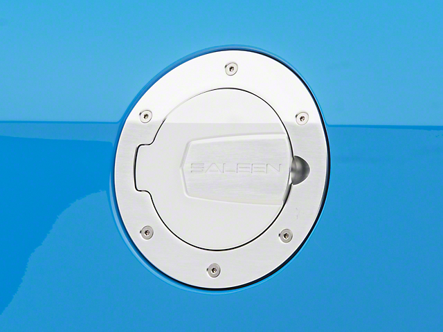 Saleen S302 Brushed Aluminum Fuel Door (10-14 All)