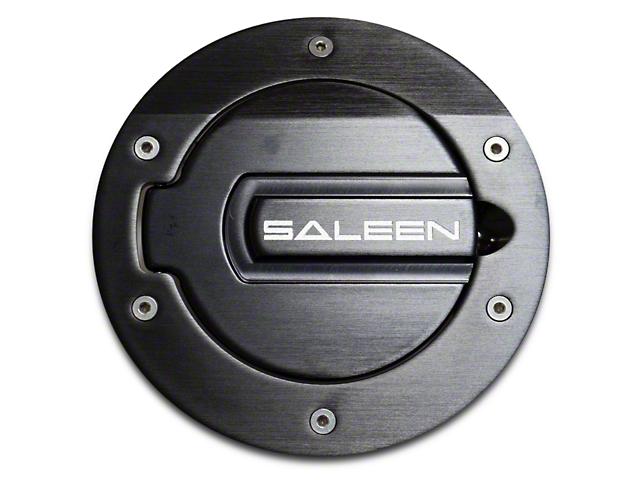 Saleen S281 Aluminum Fuel Door Black Finish (05-09 All)