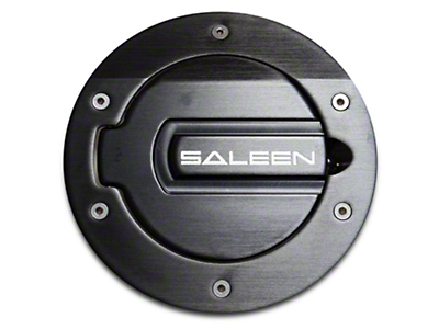 Saleen S281 Aluminum Fuel Door Black Finish (05-09 All)