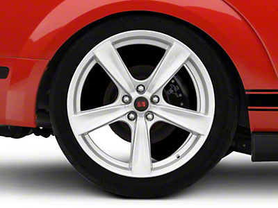 Saleen Secca Flo-Form Silver Wheel - 20x10 (05-14 All)