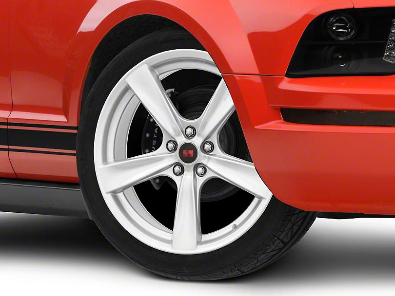 Saleen Secca Flo-Form Silver Wheel - 20x9 (05-14 All)