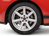 Saleen Minilite Style Silver Wheel; Rear Only; 19x10 (15-20 GT, EcoBoost, V6)