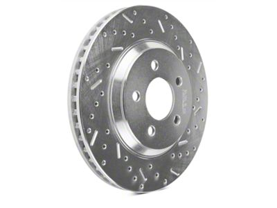 Add Xtreme Stop Precision Cross-Drilled & Slotted Rotors - Front Pair (05-10 GT; 11-14 V6)