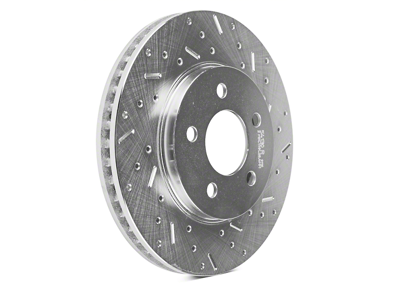 Xtreme Stop Precision Cross-Drilled & Slotted Rotors - Front Pair (05-10 V6)
