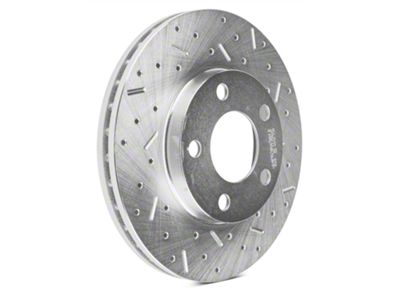 Add Xtreme Stop Precision Cross-Drilled & Slotted Rotors - Front Pair (94-04 GT, V6)