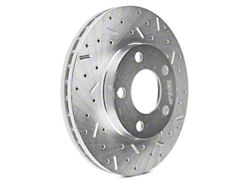Xtreme Stop Precision Cross-Drilled and Slotted Rotors; Front Pair (94-04 GT, V6)