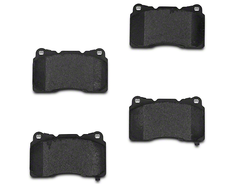 Xtreme Stop Carbon Graphite Brake Pads - Front Pair (11-14 GT Brembo; 12-13 BOSS 302; 07-12 GT500)