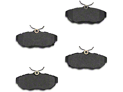 Xtreme Stop Carbon Graphite Brake Pads - Rear Pair (11-14 All)