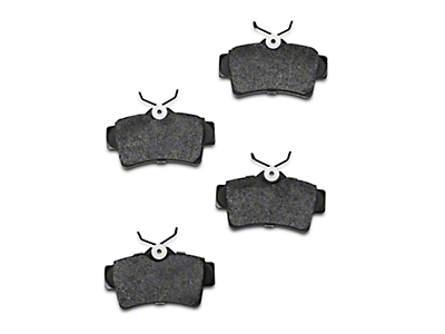 Xtreme Stop Carbon Graphite Brake Pads - Rear Pair (94-04 Cobra, Bullitt, Mach 1)
