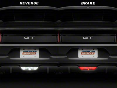 Add Raxiom Reverse Light LED / 4th Brake Light Conversion Kit (15-17 All)