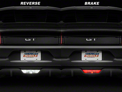 Reverse Light LED / 4th Brake Light Conversion Kit (15-18 All)