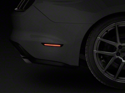 Smoked LED Side Markers - Rear (15-18 All)
