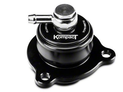 C&L Mustang Bypass Valve Adapter - Black 389869 (15-20 EcoBoost)