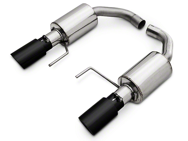 Pypes Street Pro Touring Axle-Back Exhaust System - Black (15-17 GT)