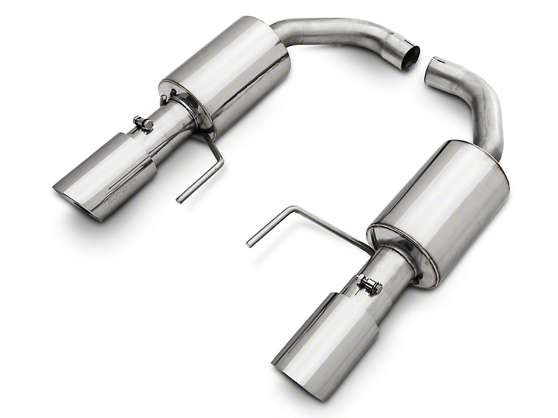 Pypes Street Pro Touring Axle-Back Exhaust (15-20 EcoBoost w/o Active Exhaust)