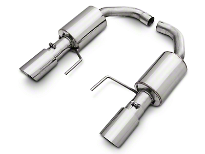 Pypes Street Pro Touring Axle-Back Exhaust (15-17 EcoBoost)
