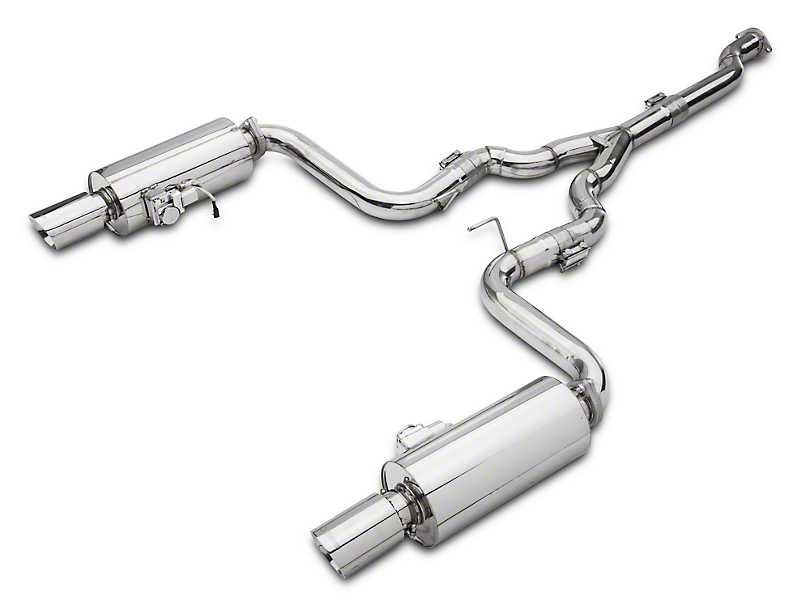 X-Force Varex Cat-Back Exhaust (15-19 EcoBoost Fastback w/o Active Exhaust)