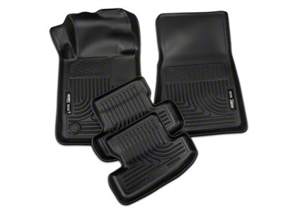 Add Husky WeatherBeater Floor Liners - Black (15-17 All)