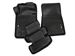 Husky WeatherBeater Front & Rear Floor Liners - Black (15-20 All)