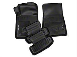 Husky WeatherBeater Front & Rear Floor Liners - Black (15-19 All)