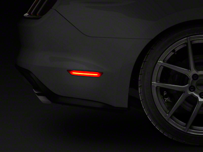Raxiom Red LED Side Markers - Rear (15-17 All)