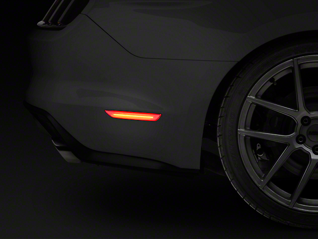Vividline Clear LED Rear Side Markers (15-18 All)