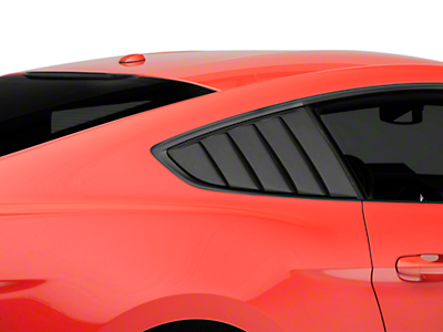 Cervini's Quarter Window Louvers (15-18 Fastback)