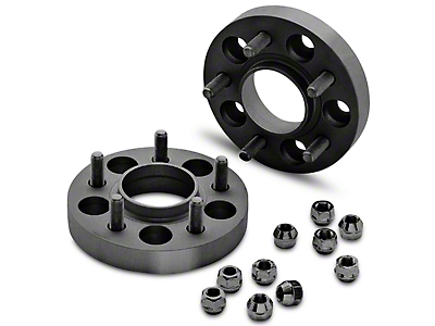 Eibach Pro-Spacer Hubcentric Black Wheel Spacers - 25mm - Pair (15-17 All)