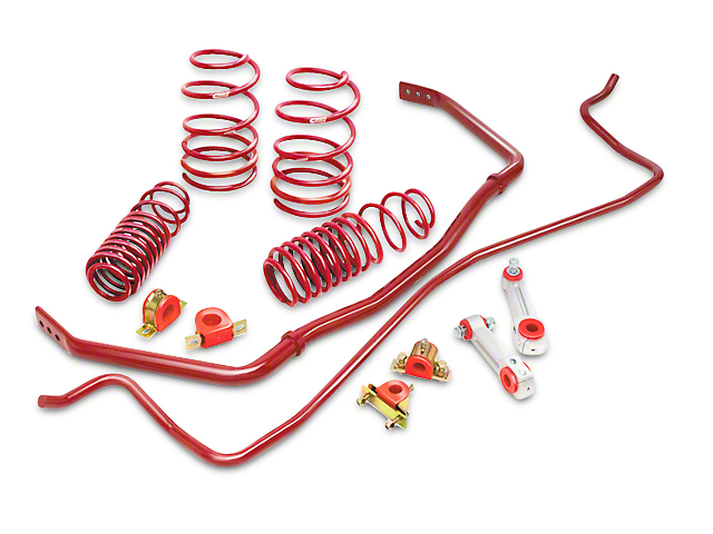 Eibach Sport-Plus Suspension Kit (15-19 EcoBoost w/o MagneRide, V6)