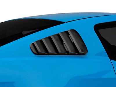 Street Scene Quarter Window Louvers - Unpainted (10-14 Coupe)