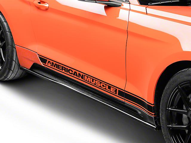 Saleen Mustang S302 Carbon Fiber Side Skirts 58-009-00003-01 (15-19 ...