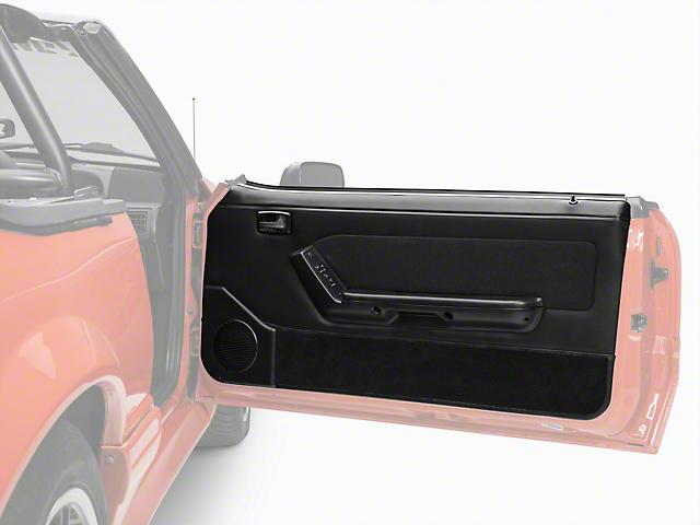 OPR Convertible Door Panels for Power Windows - Black (87-93 Convertible)