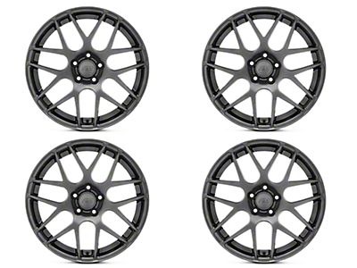 AMR Dark Stainless 4 Wheel Kit - 19x8.5 (05-14 All)