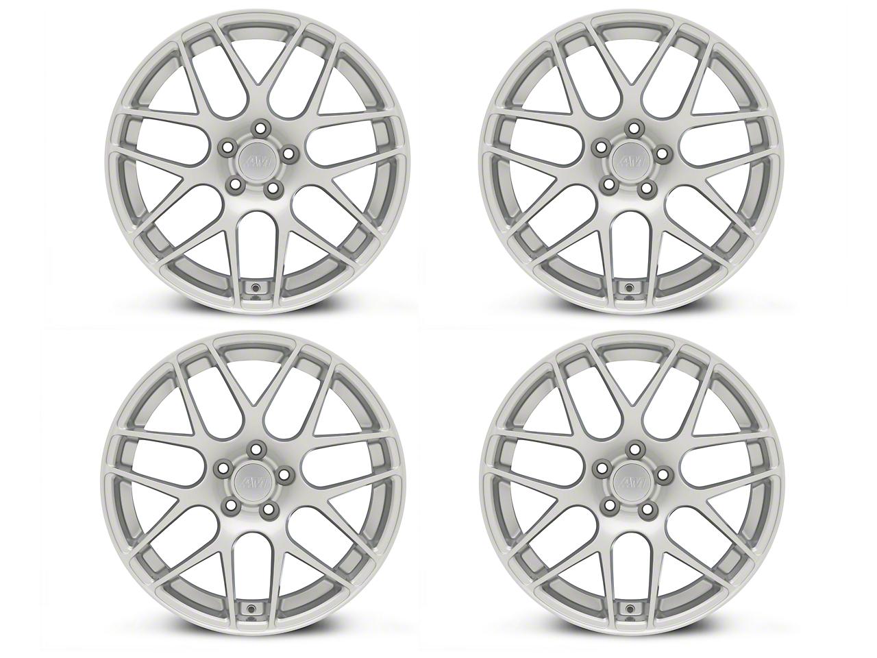 AMR Silver 4 Wheel Kit - 19x8.5 (15-18 GT, EcoBoost, V6)