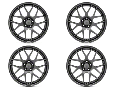 AMR Dark Stainless 4 Wheel Kit - 19x8.5 (15-17 All)