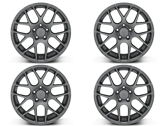 AMR Charcoal 4 Wheel Kit - 18x9 (05-14 All)