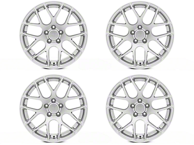 AMR Silver 4 Wheel Kit - 18x9 (05-14 All)